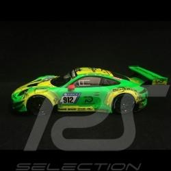 Porsche 911 type 991 GT3 R vainqueur winner Sieger Nürburgring 2018 n° 912 Manthey racing 1/43 Spark SG400