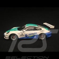 Porsche 911 GT3 Cup type 991 n° 1 vainqueur winner sieger Carrera Cup 2017 Allemagne Germany Deutschland 1/43 Spark SG262