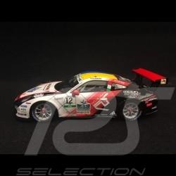 Porsche 911 GT3 Cup type 991 n° 12 vainqueur winner Sieger Carrera Cup 2017 Italie Italy Italia 1/43 Spark SI006