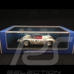 Porsche 718 RS 60 Spyder Vainqueur winner Sieger 12h Sebring 1960 n° 42 Herrmann 1/43 Spark 43SE60