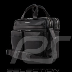 Porsche bag Briefbag / Laptop bag expandable bellows black leather CL2 2.0 LHZ P2000 Porsche Design 4090001804