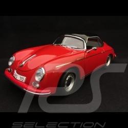 "Porsche 356A Carrera Speedster 1954 "" 70 Ans Porsche "" rouge 1/18 Schuco 450031300"