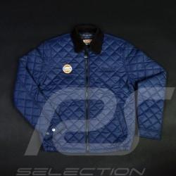 Veste sport courte matelassée Derek Bell bleu marine - homme men herren jacket jacke