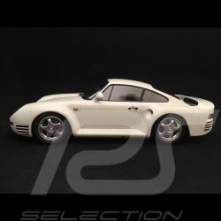 Porsche 959 1987 blanc 1/18 Minichamps 155066206