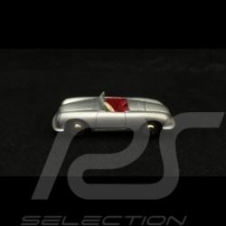 Porsche 356 N° 1 1948 gris argent métallisé 1/87 Schuco 450143500 silver grey silbergrau metallic