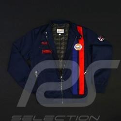 Gulf Racing  jacket Derek Bell signature navy blue - men