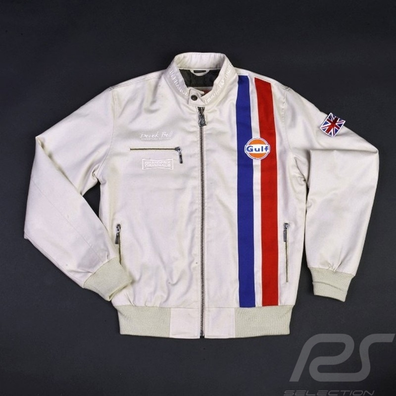 Veste Homme Derek Bell Gulf Beige Signature Rs Selection Racing Z1ZW4fS