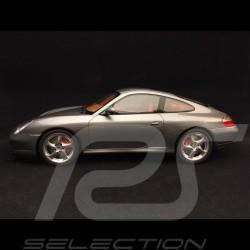 Porsche 911 Carrera 4S type 996 seal grey metallic 1/18 GT Spirit GT182