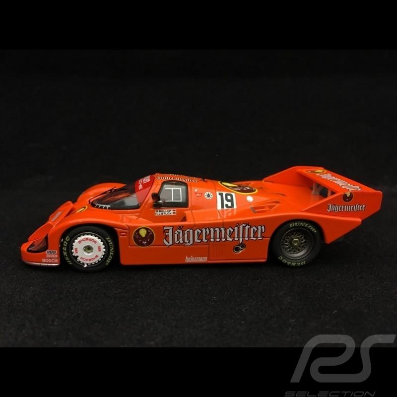 Porsche 956 K vainqueur winner Sieger 1000km Imola 1984 n° 19 Jägermeister 1/43 CMR SBC018