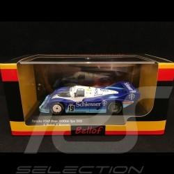 Porsche 956 B 1000km Spa 1985 n° 19 Bellof 1/43 CMR SBC027