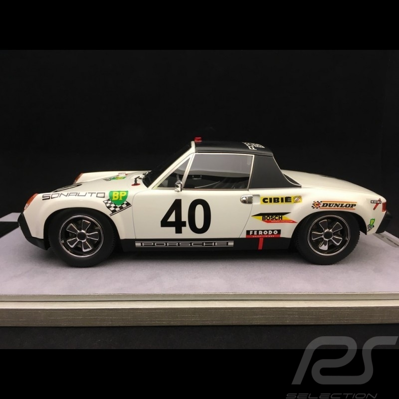 Porsche 914/6 Vainqueur Winner Sieger Le Mans 1970 n° 40 Sonauto 1/18 Tecnomodel TM1883A