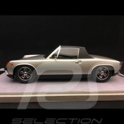 Porsche 914 /6 1974 silver grey metallic 1/18 Tecnomodel TM1883E
