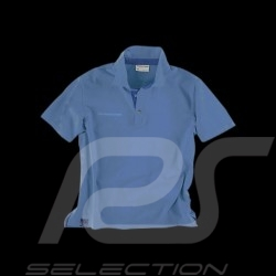 Polo Porsche Classic Metropolitan Collection Porsche Design Wap960 bleu blue blau - homme men herren