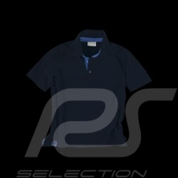 Polo Porsche Classic Metropolitan Collection bleu marine navy blue marineblau - homme men herren
