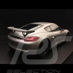 Porsche Cayman GT4 type 9812016 metallic grey 1/18 Spark 18S298