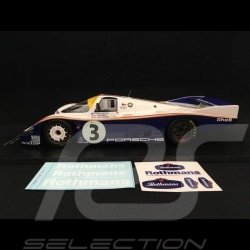 Porsche 956 LH Vainqueur Winner Sieger Le Mans 1983 n° 3 Rothmans 1/18 Spark 18LM83