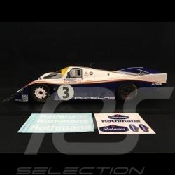 Porsche 956 LH Winner Le Mans 1983 n° 3 Rothmans 1/18Spark 18LM83