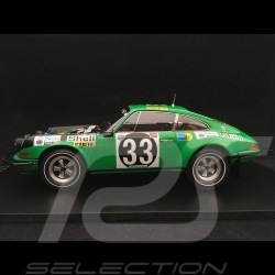 Porsche 911 ST East African Safari 1971 n° 33 Waldegard 1/18 Spark 18S285
