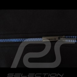 Veste à capuche Porsche Metropolitan Collection noir / bleu - homme men herren hoodie jacket kapuze jacke