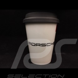 Tasse Porsche 70 ans 1948 - 2018 avec couvercle isotherme Porsche Design MAP10700318 Mug with insulated lid mit isoliertem Decke