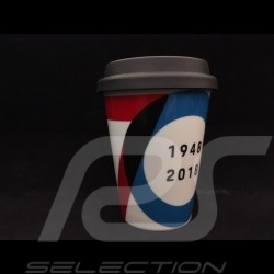 Porsche Mug 70 years 1948 - 2018 with insulated lid Porsche Design MAP10700318