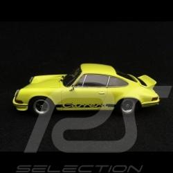Porsche 911 Carrera RS 2.7 1973 jaune clair 1/43 Minichamps WAP0201420J light yellow licht gelb