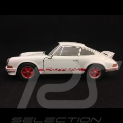 Porsche 911 Carrera RS 2.7 1973 weiß / rot 1/18 Welly 18044