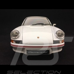 Porsche 911 Carrera RS 2.7 1973 white / red 1/18 Welly 18044