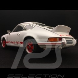Porsche 911 Carrera RS 2.7 1973 blanche / rouge 1/18 Welly 18044