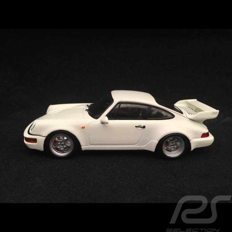Porsche 911 type 964 Carrera RS 3.8 1993 1/43 Spark SDC015 blanc white weiß