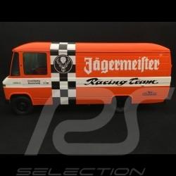 Mercedes L408 Koffer-LKW Porsche Jägermeister racing team 1/18 Premium ClassiXXs PCL30106