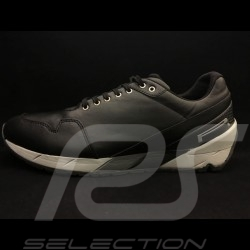 Chaussure Pirelli Sport Pilote DERRY-14 cuir noir leather Shoe Leder Schuhe - homme men herren