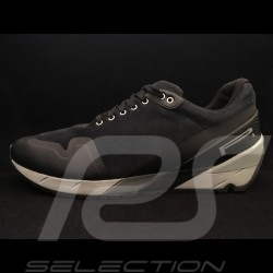 Chaussure Pirelli Sport Pilote DERRY-15 cuir / alcantara gris / noir -leather shoes leder Schuhe homme men herren
