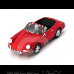 Porsche 901 Karmann Cabriolet 1964 1/43 Autocult 90074 rouge signal red signalrot