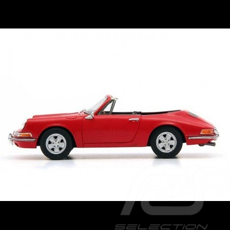 Porsche 901 Karmann Cabriolet 1964 red 1/43 Autocult 90074