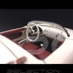 Porsche 550 A Spyder blanc Edition 70 ans 1/18 Schuco 450033300 white 70 years Edition weiß 70 Jahre