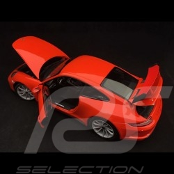 Porsche 911 GT3 type 991 phase II 2017 lava orange fusion 1/18 Minichamps 110067022