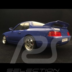 Porsche 968 Turbo S 1994 1/18 GT Spirit GT201 bleu maritime blue maritimblau