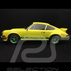 Porsche 911 Carrera 2.7 RS Touring 1973 1/12 GT Spirit GT733 jaune / vert yellow / green gelb / grun