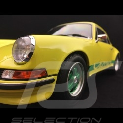 Porsche 911 Carrera 2.7 RS Touring 1973 1/12 GT Spirit GT733 jaune / vert yellow / green gelb / grun