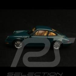 Porsche 911 type 964 Carrera 4 1991 Amazon green 1/43 Spark MAP02003517