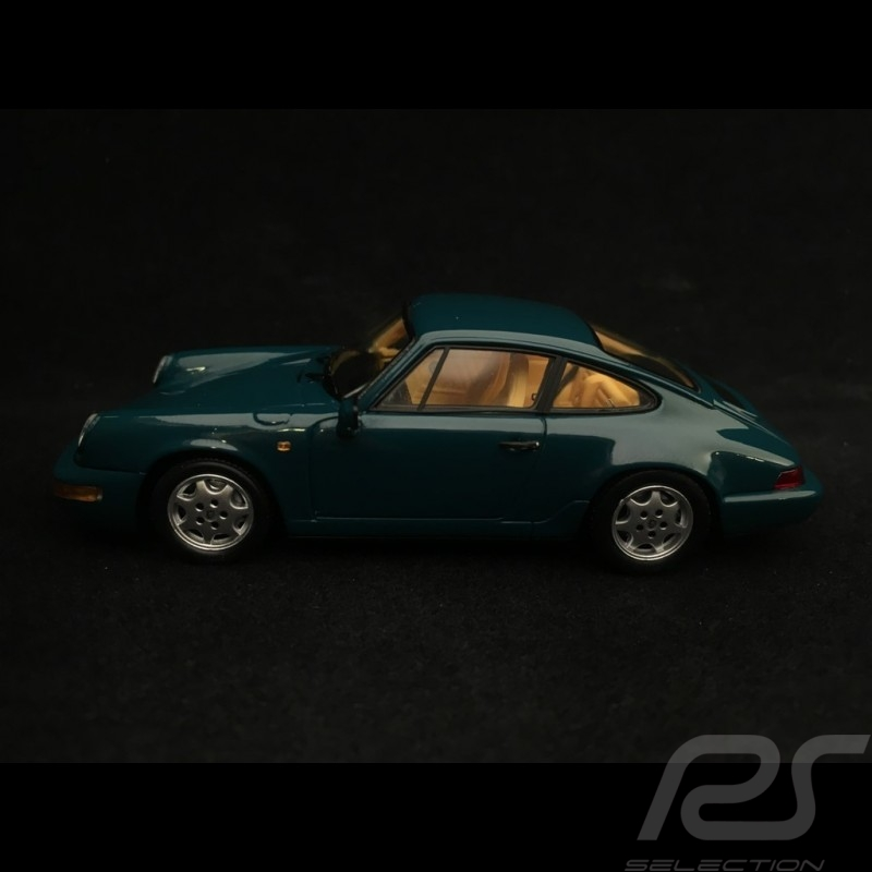Porsche 911 type 964 Carrera 4 1991 1/43 Spark MAP02003517 vert amazone Amazon green perlcolor Amazongrün