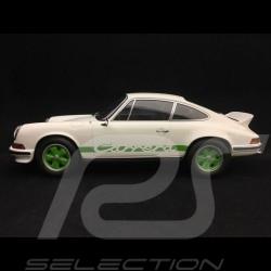 Porsche 911 2.7 Carrera RS Touring 1973 1/18 Norev 187636 blanche / bandes vertes white green stripes weiß grüne streifen