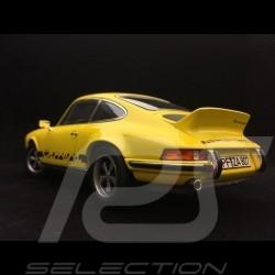 Porsche 911 2.7 Carrera RS Touring 1973 1/18 Norev 187638 jaune / bandes noires yellow / black stripesGelb / schwarze Streifen
