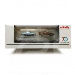 Wagon Porsche 70 ans Les années 70 Porsche Märklin HO 1/87 MAP10707018 45054 Auto Transport Car Autotransportwagen