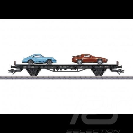 Porsche Autotransportwagen 70 Jahre Porsche 70er Jahre Märklin HO 1/87 MAP10707018 45054