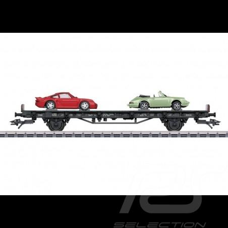 Porsche Auto Transport Car 70 Years Porsche the 80's Märklin HO 1/87 MAP10708018 4505