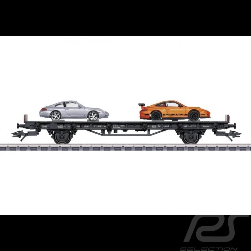 Wagon Porsche 70 ans Les années 2000 Porsche Märklin HO 1/87 MAP10700018 45057