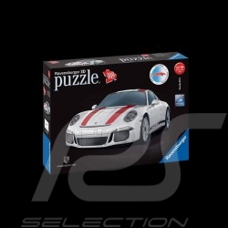 Porsche 3D Puzzle 911 R white / red 108 pièces 1/18 Ravensburger 125289 MAP07024018