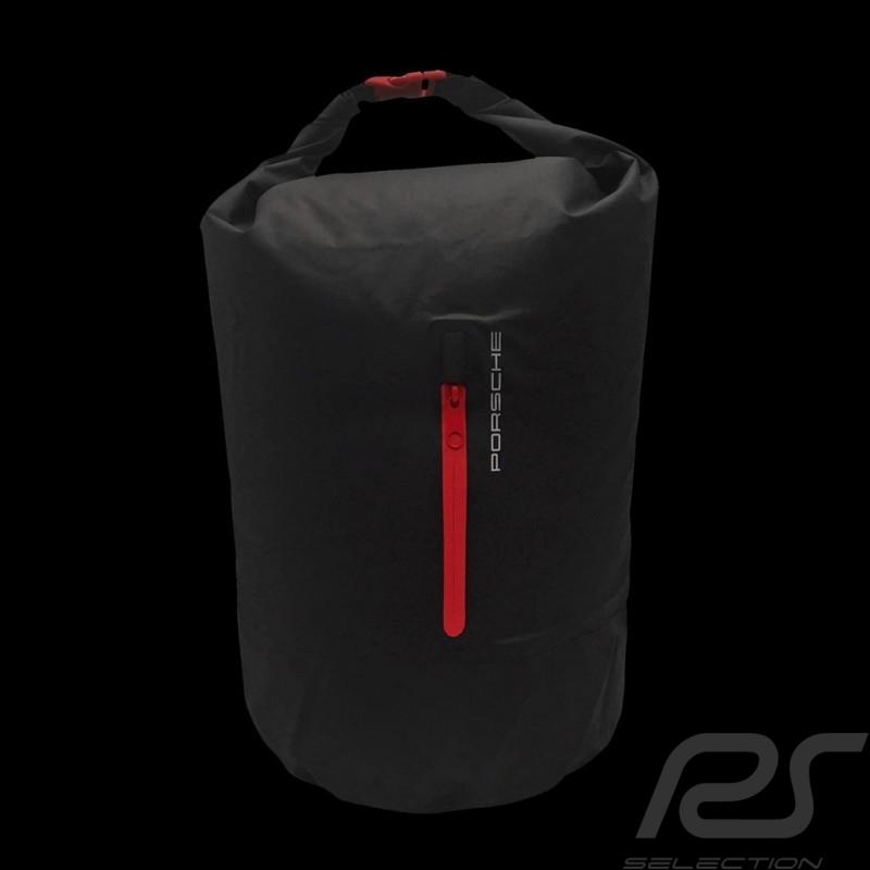 Sac marin Porsche Motorsport étanche et résistant noir / rouge Porsche Design WAP9100080J0SR Duffle bag Seesack